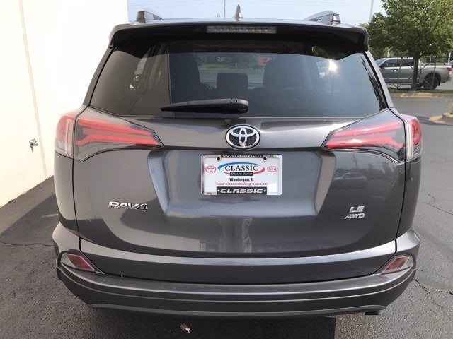 2018 Toyota Rav4 Le Toyota Dealer In Waukegan Illinois New And