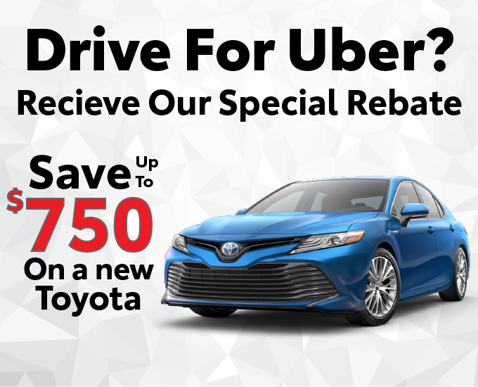 Uber Driver Rebate | Nearby Toyota Dealers | Waukegan, IL